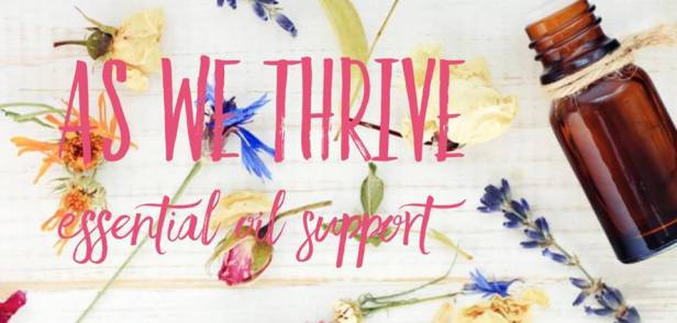 as we thrive essential oil support